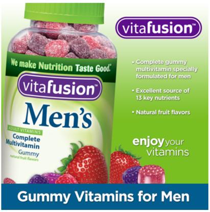Picture of Vitafusion Mens Complete Multivitamin 220 Gummies