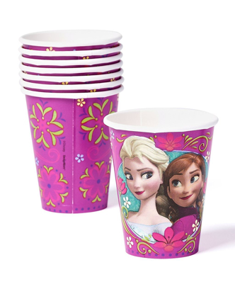 Picture of American Greetings Frozen 9 oz. Paper Party Cups, 8 Count, Party Supplies Novelty