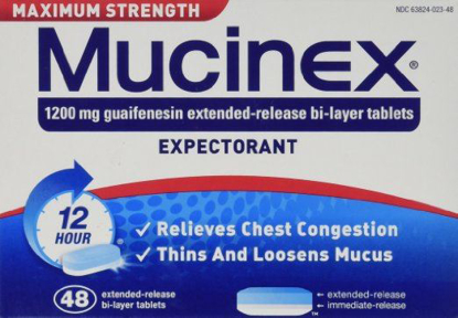 Picture of Mucinex Max Strength SE Tablets, 48-Count