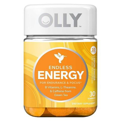 Picture of Olly Endless Energy Lemon Zinger Vitamin Gummies - 30 Count