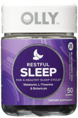 Picture of OLLY Restful Sleep Blackberry Zen - 50 Count
