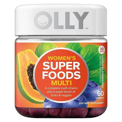 Picture of Olly Women's Super Foods Multivitamins 60 Count