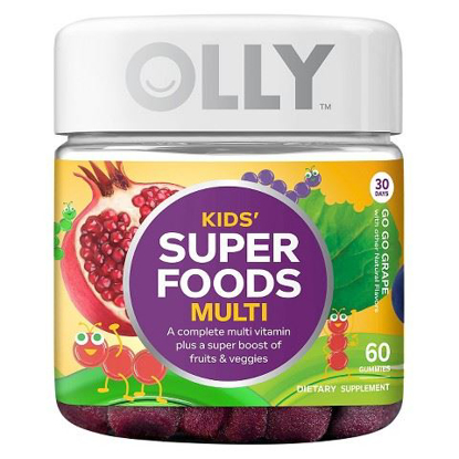 Picture of Olly Kids Super Foods Multivitamins - 60 Count