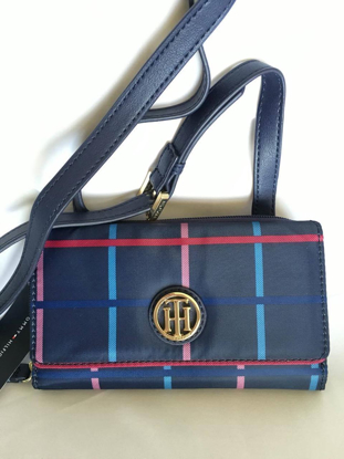 Picture of Tommy Hilfiger Crossbody Phone Case Wallet in Blue
