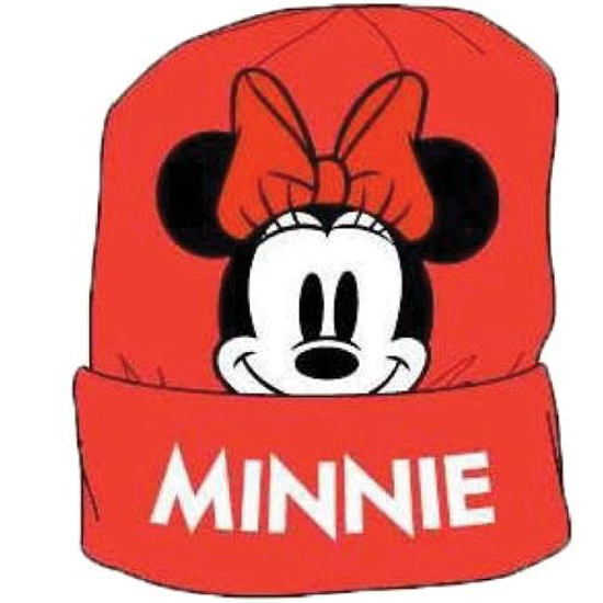 Picture of Disney Minnie Mouse Beanie Headwear Red White Black