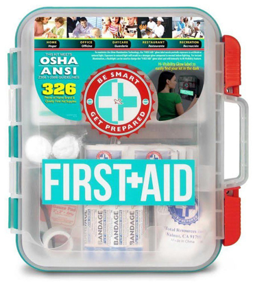 Picture of First Aid Kit, Hard Teal Case, 326 Pieces