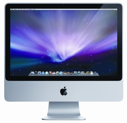 Picture of Apple iMac 20 inch Desktop Computer 2.4GHz Core 2 Duo 1GB 250GB  MB323LL/A  Early 2008