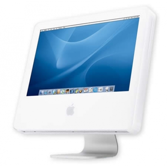Picture of Apple iMac G5 Desktop 20 in M9845LL/A  2.0 GHz PowerPC G5, 512 MB RAM, 250 GB Hard Drive, SuperDrive