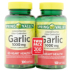 Picture of Spring Valley Odor-Controlled Garlic Herbal Supplement Softgels, 100 count, 2 pack