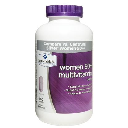 Picture of Member's Mark - Women 50+ Multivitamin 400 Tablets Compare to Centrum