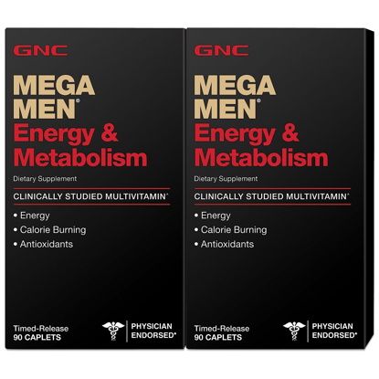 Picture of GNC Mega Men Energy & Metabolism Multivitamins 180 ct