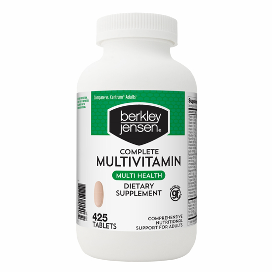 Picture of Berkley Jensen Adult Multivitamin, 425 ct.