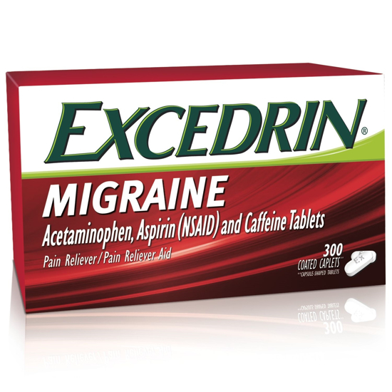 Picture of Excedrin Migraine 300 Coated Caplets