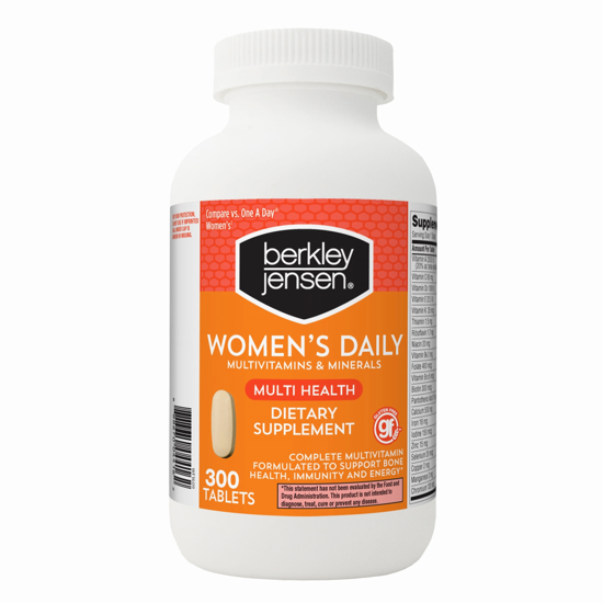 Picture of Berkley Jensen Women's Daily Multivitamin 300 ct