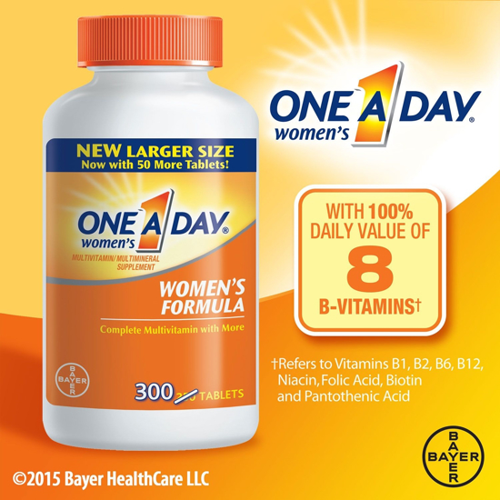 Picture of One A Day Women's Health Formula Multivitamin (300 ct.)
