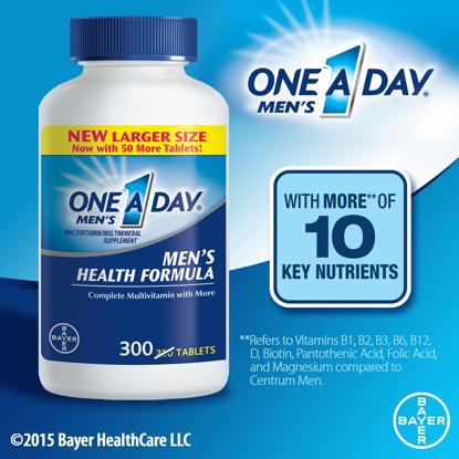 Picture of One A Day Men's Health Formula Multivitamin 300 ct