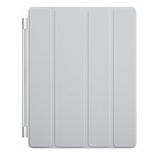 Picture of Apple iPad Smart Cover Leather (Light Gray) - MD307LL/A