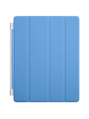 Picture of Apple iPad Smart Cover Leather (Blue) - MD310LL/A