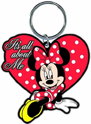 Picture of Disney It's All About Me Minnie Lasercut Keychain