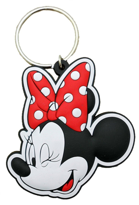 Picture of Disney Minnie Mouse Bow Wink - Keychain