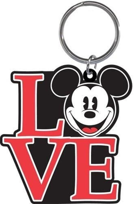 Picture of Disney Mickey Mouse Love Laser Cut Keychain key chain