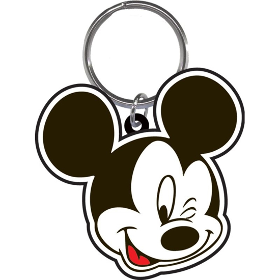 Picture of Disney Mickey Smile & Wink - Lasercut Keychain