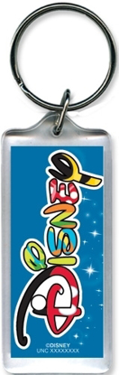 Picture of Disney Magic Logo Lucite Keychain