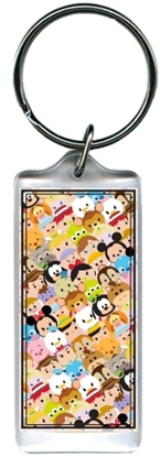 Picture of Disney Tsum Tsum Group Characters Lucite Keychain