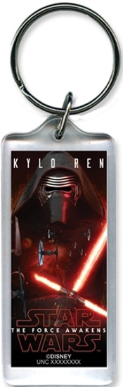 Picture of Disney Keychain - Star Wars The Force Awakens Kylo Ren Mask of Madness