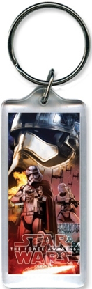 Picture of Disney Star wars Phasma Fire Storm Trooper Lucite Keychain