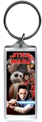 Picture of Disney Star Wars The Last Jedi Lucite Keychain