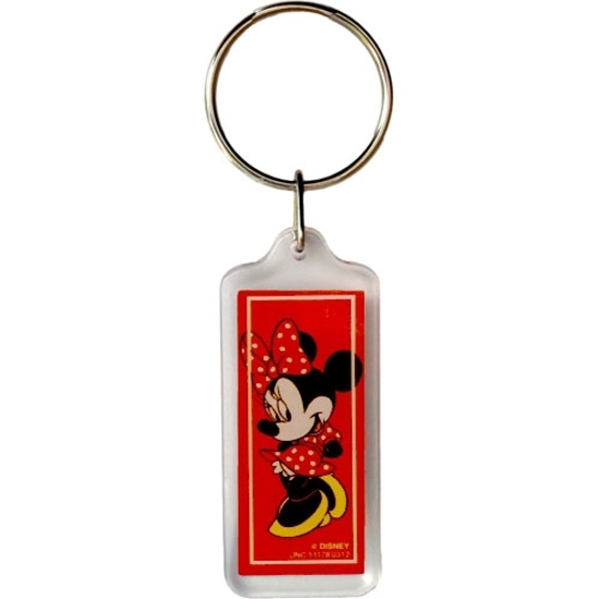 Picture of Disney Minnie Mouse Classic Red Minnie Lucite Keychain