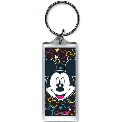 Picture of Disney Mickey Mouse Toss Heads - Lucite Keychain