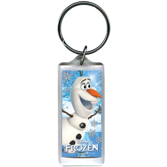Picture of Disney Frozen Olaf Snow skater lucite Plastic Keychain