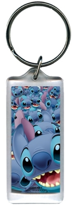 Picture of Disney Multi Stitch Lilo Lucite Keychain