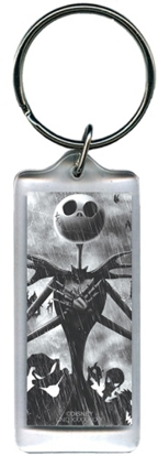 Picture of Disney Jacks Back Nightmare Before Christmas Lucite Rectangle Keychain