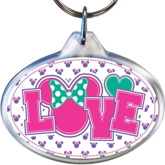 Picture of Disney Love Minnie - Lucite Keychain