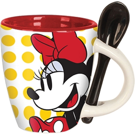 Picture of Disney Minnie Classic Dots Espresso Cup with Spoon