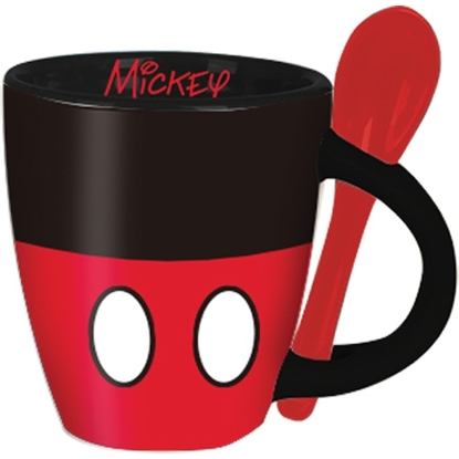 Picture of Disney Mickey Signature Shorts Espresso Cup with Spoon