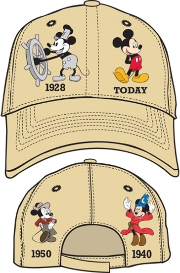 Picture of Disney Adult Hat Mickey Years Khaki (florida Namedrop)