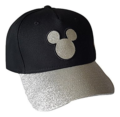 Picture of Disney Adult Hat Sequins Mickey Head, Black (Florida Namedrop)