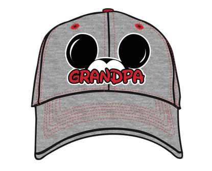 "Picture of Disney Adults Mickey Mouse ""Grandpa"" Fan Baseball Hat"