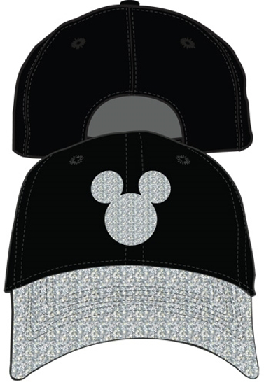 Picture of Disney Mickey Mouse Adult hat Shimmer Silver