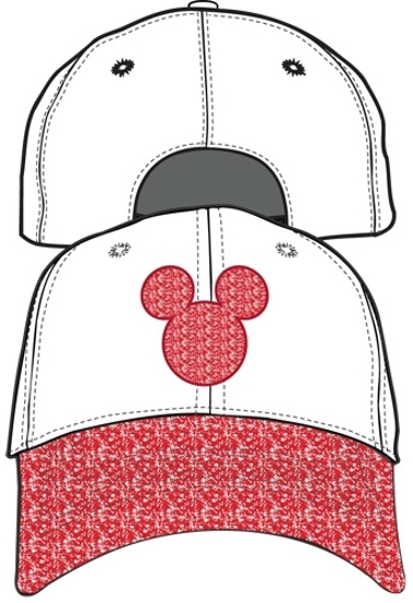 Picture of Disney Adult Hat Mickey Shimmer Pink