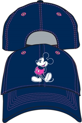 Picture of Disney OG Smile Mickey Navy Adult Hat Baseball Cap