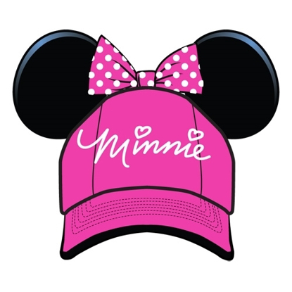 Picture of Disney Youth Hat Kids Cap with Minnie Mouse Ears (Minnie Pink)