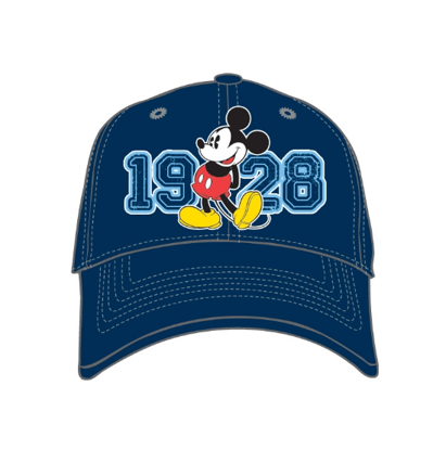 Picture of Disney 1928 Classic Blue Mickey Mouse Youth Baseball Hat Cap