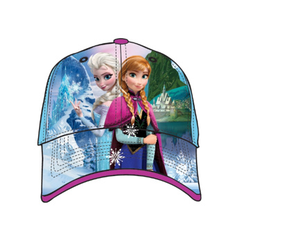 Picture of Disney Frozen Sisters Anna Elsa Youth Baseball Hat, Blue