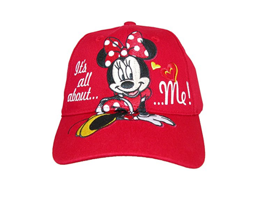 Picture of Disney Girls' It's All About Me Minnie Mouse Baseball Cap