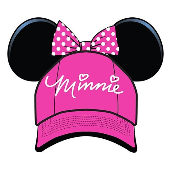 Picture of Disney Youth Hat Sassy Minnie with Ears Bow, Pink